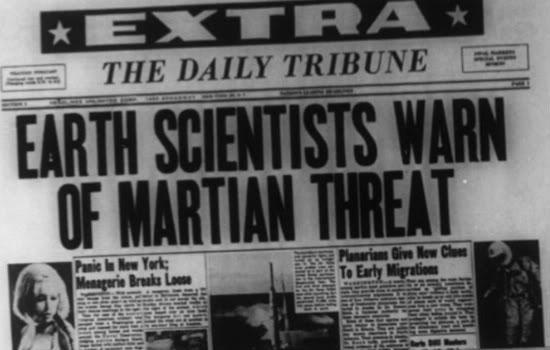 Space monster headline